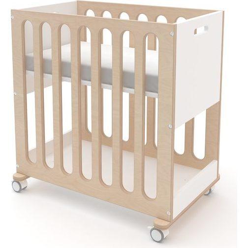 Fawn 2-in-1 Crib System, White/ Birch