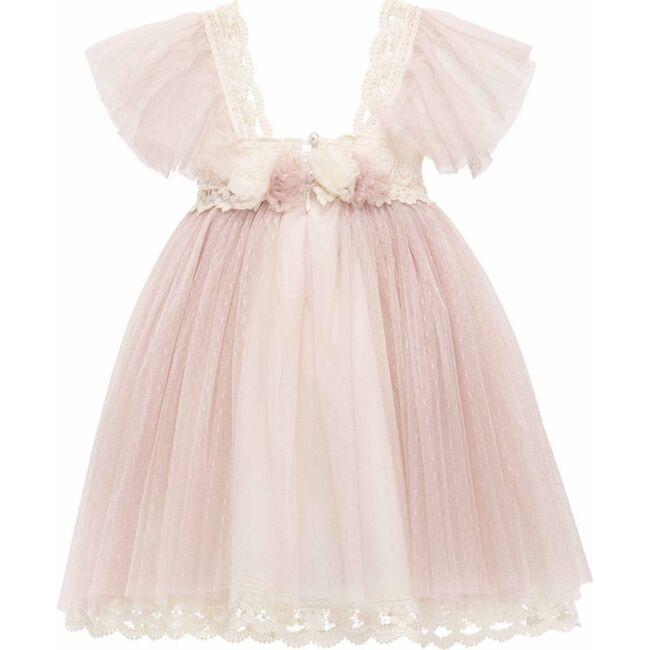 Victorian Denevi Dress, Mauve