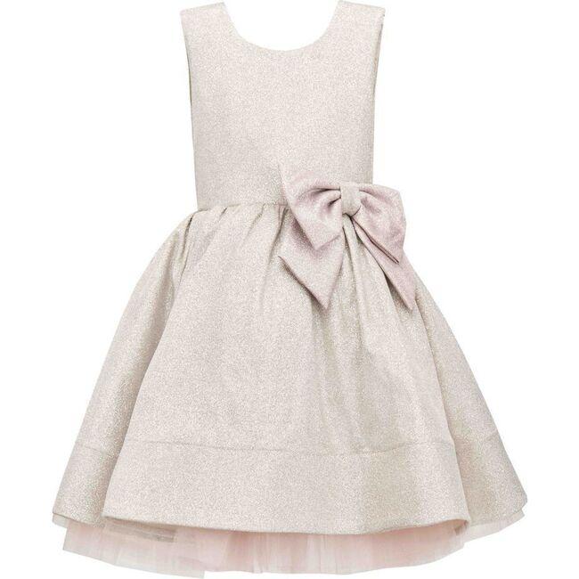 Glitter Pinta Dress, Gray