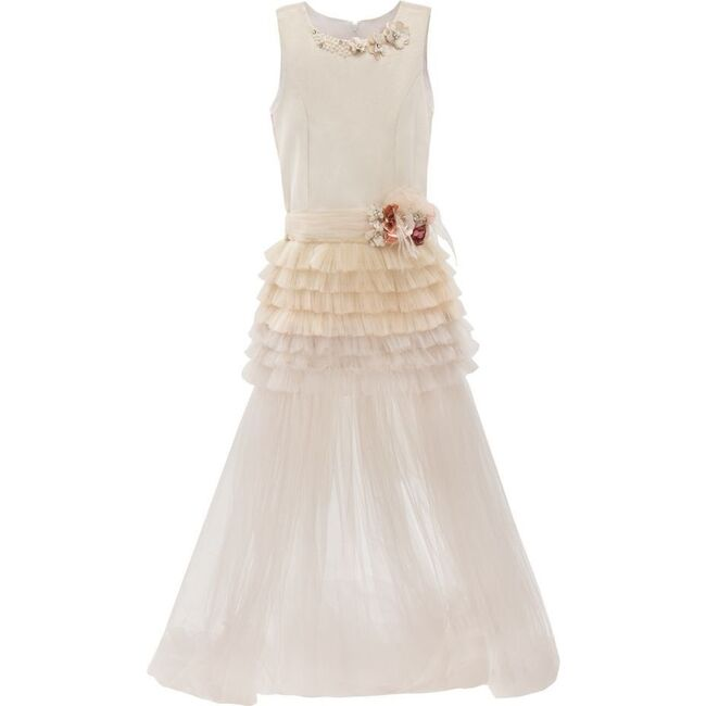 Euclid Dress, Champagne