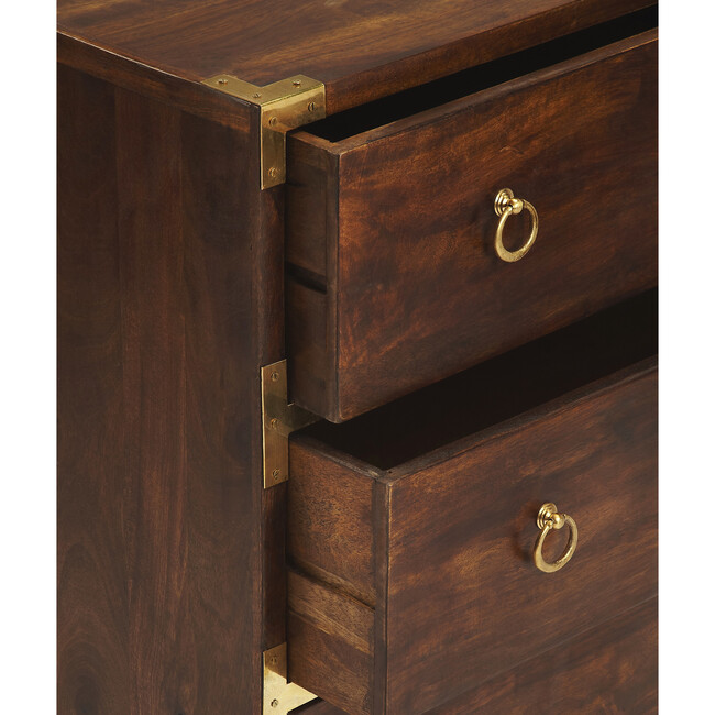 Forster  Campaign Chest, Dark Wood