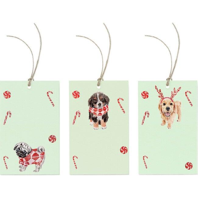 Peppermint Puppy Tag Trio