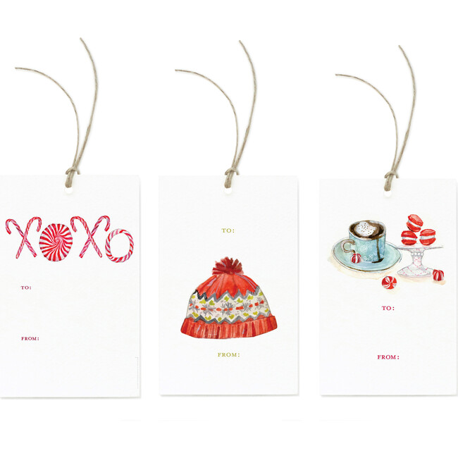 Holiday Sweets Tag Trio