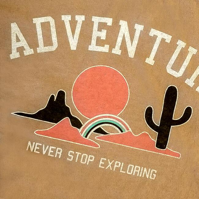 Adventure Tee,  Gold