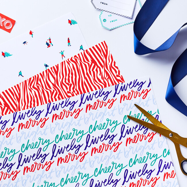 Get Your Frosty Fix Holiday Wrapping Paper Bundle