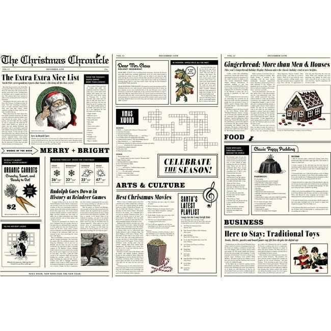 The Christmas Chronicle Gift Wrap