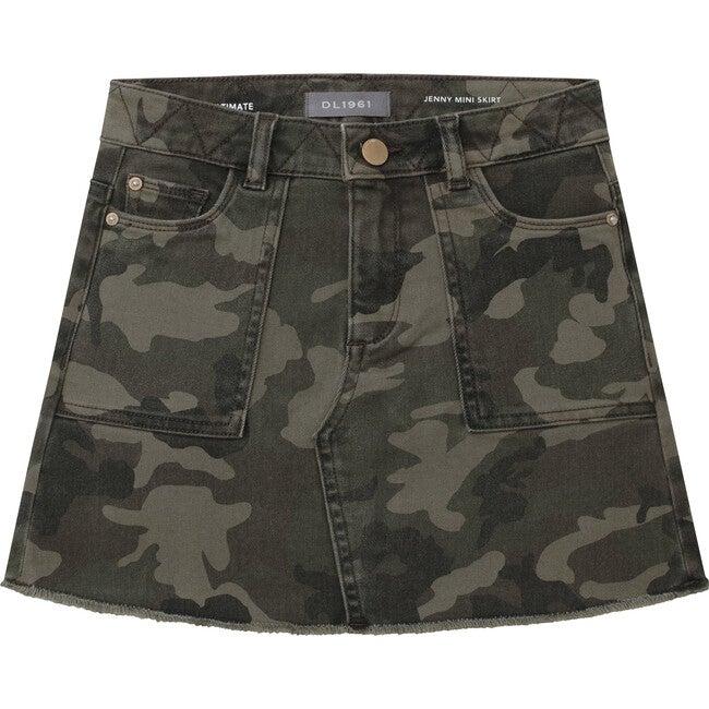 Jenny Mini Skirt, Victory Camo