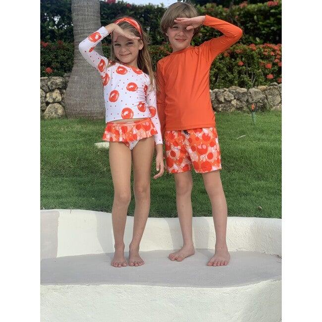 Boy short, Fizzy Orange