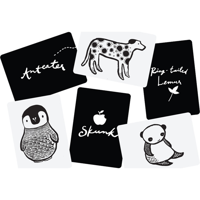 Black and White Art Cards for Baby
