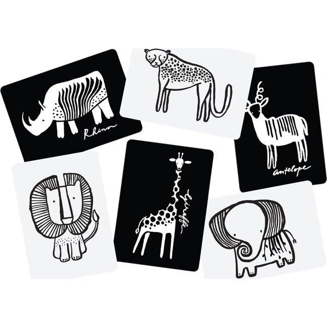 Safari Art Cards for Baby