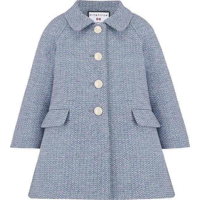 Islington Coat, Porcelain Blue