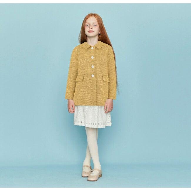Islington Coat, Honey Yellow