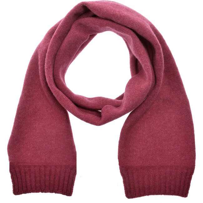 Bute Scarf, Pink Heather