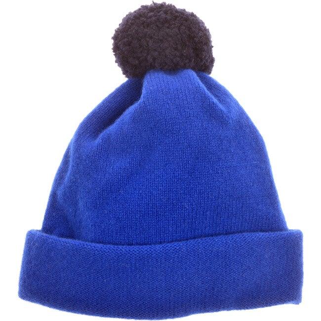 Argyll Bobble Hat, Royal Blue