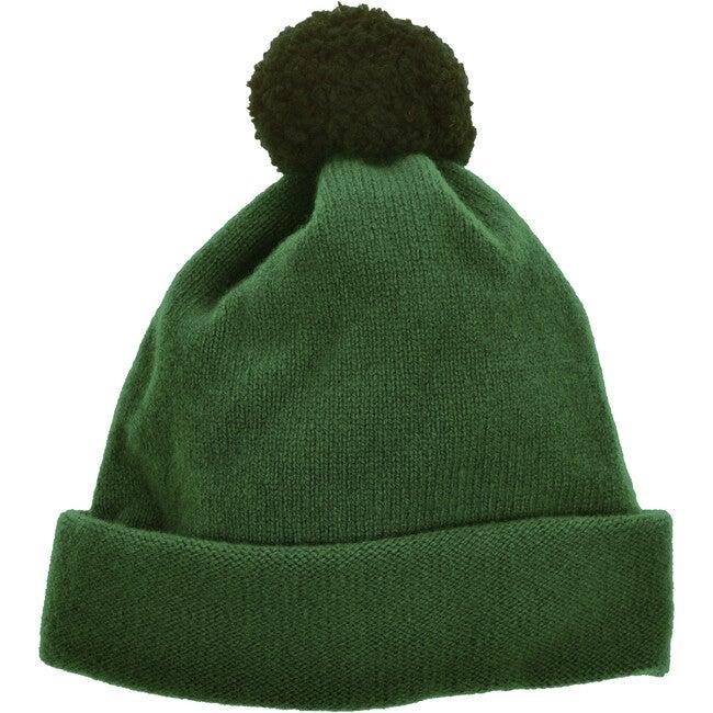 Argyll Bobble Hat, Forest Green