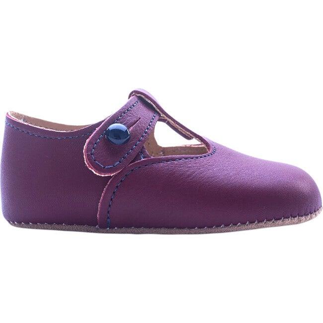 Alex British Pre-Walker Baby Shoe - London Burgundy