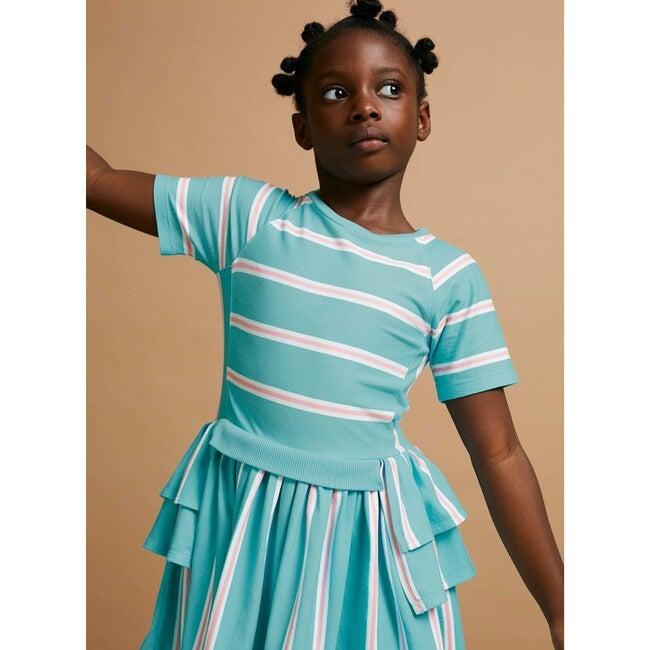 Moving On Dress, Collegiate Stripe