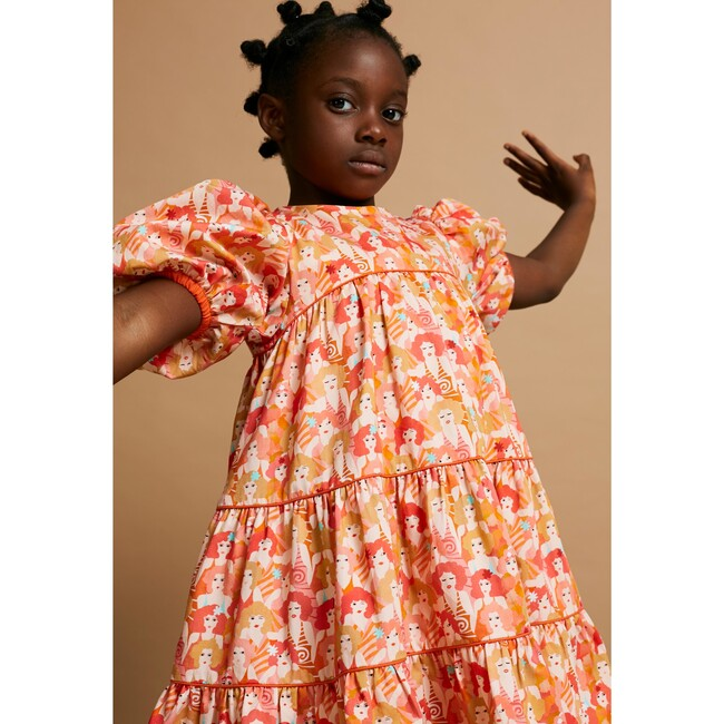 Too Tier-ry Eyed Dress, Pink