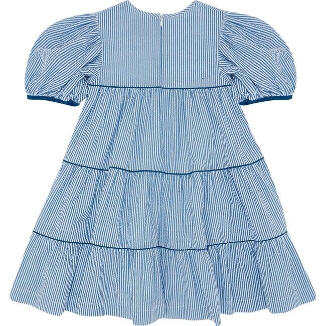 Too Tier-ry Eyed Dress, Seersucker