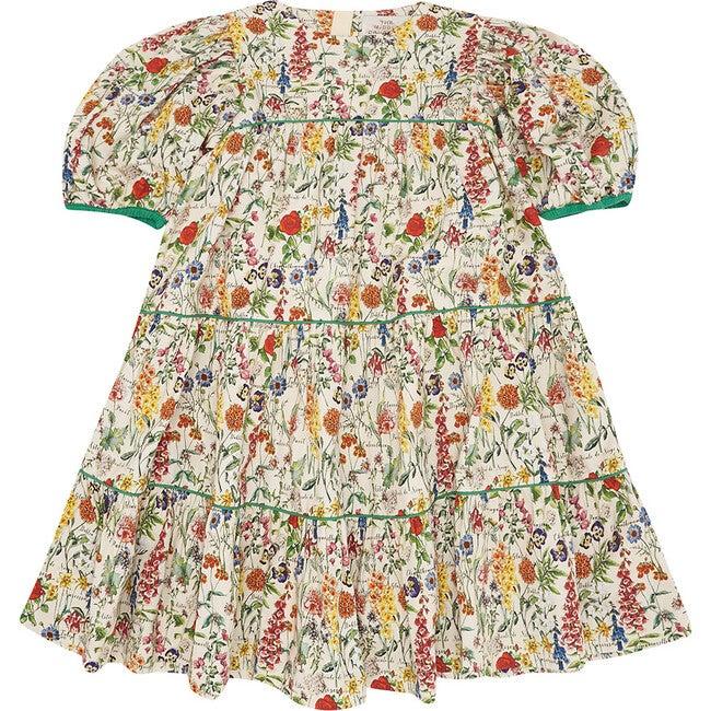 Too Tier-ry Eyed Dress, Botanical
