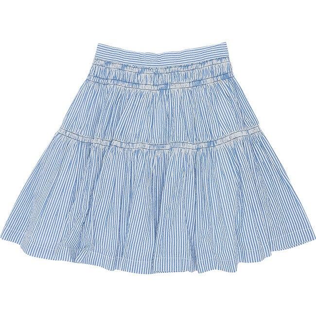 Gather Around Skirt, Seersucker