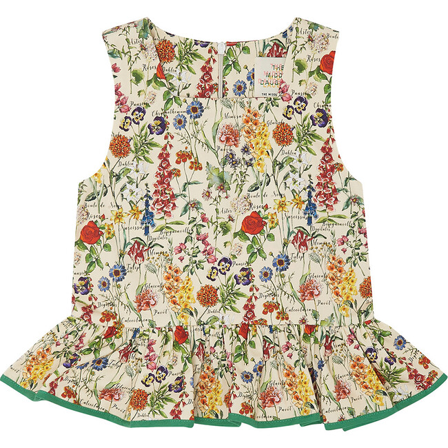 Fair and Square Blouse, Botanical