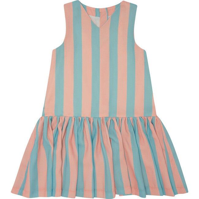 Wish You Were Here Dress, Vertical Stripe