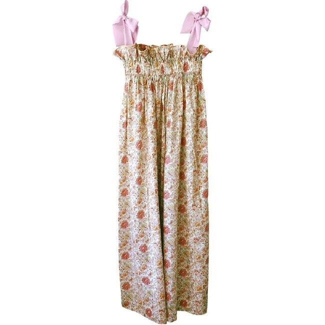 Women's Jaime Dress, Coral & Pastel Floral