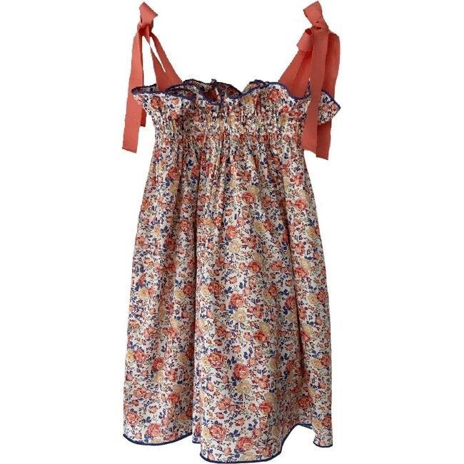 Jaime Dress, Coral Floral