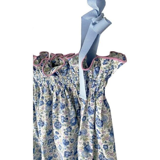 Jaime Dress, Blue Floral