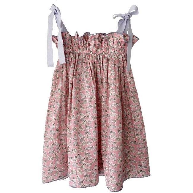 Jaime Dress, Pink Kitten