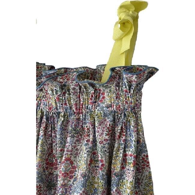 Women's Jaime Dress, Floral Bird Garden
