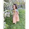 Jaime Dress, Pink and Gold Floral - Dresses - 3