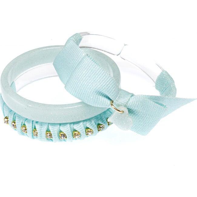Fancy Fabric Bracelets, Mint