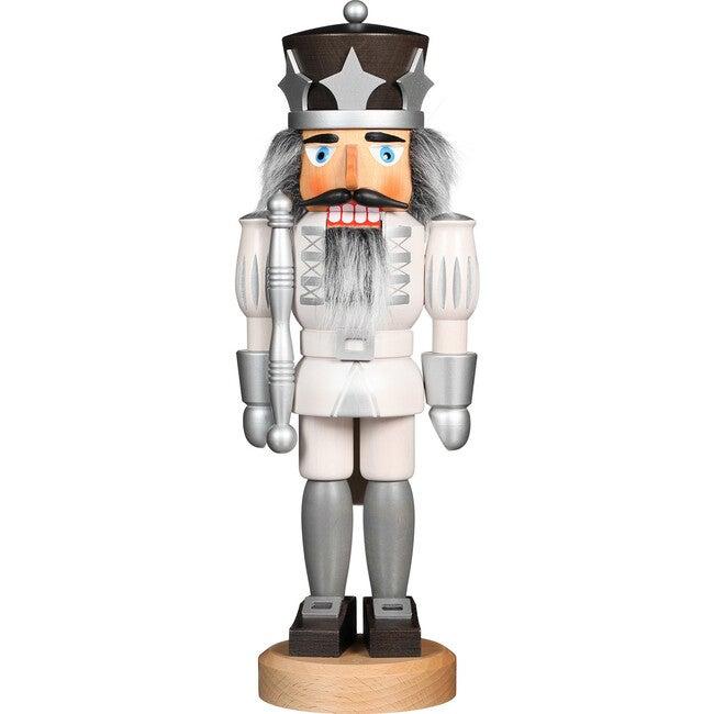 Prince Nutcracker, White/Silver
