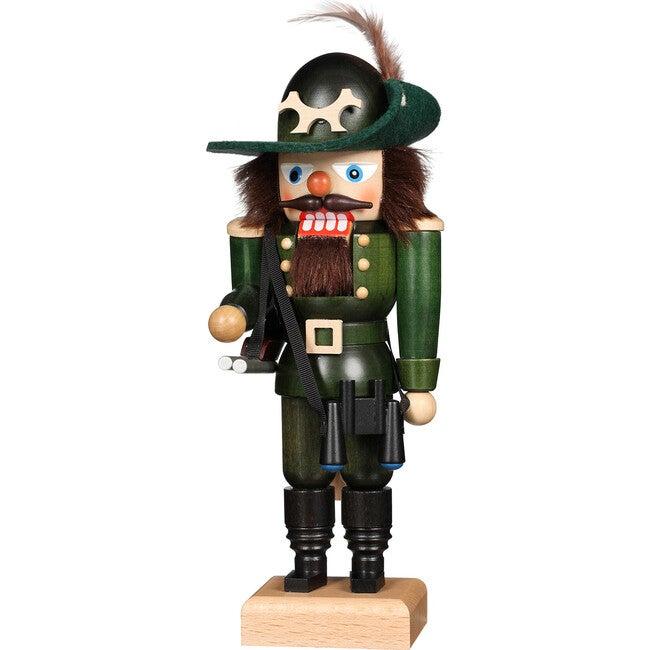 Forest Ranger Nutcracker, Green - Accents - 1