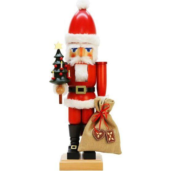 Extra Large Santa Nutcracker, Red