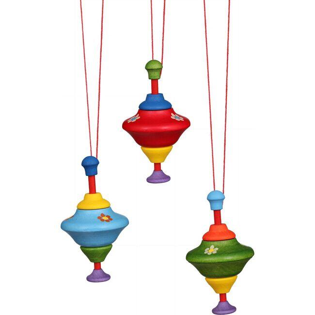 Tops Ornament, Set of 6