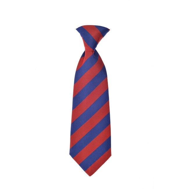 Cherwell Neck Tie, Blue & Red Varsity Stripes