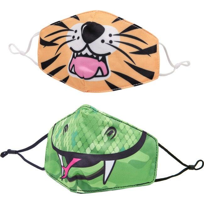 Snake & Tiger Face Mask Set