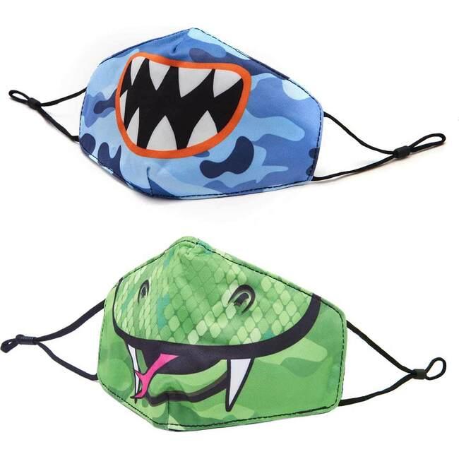 Monster & Snake Face Mask Set