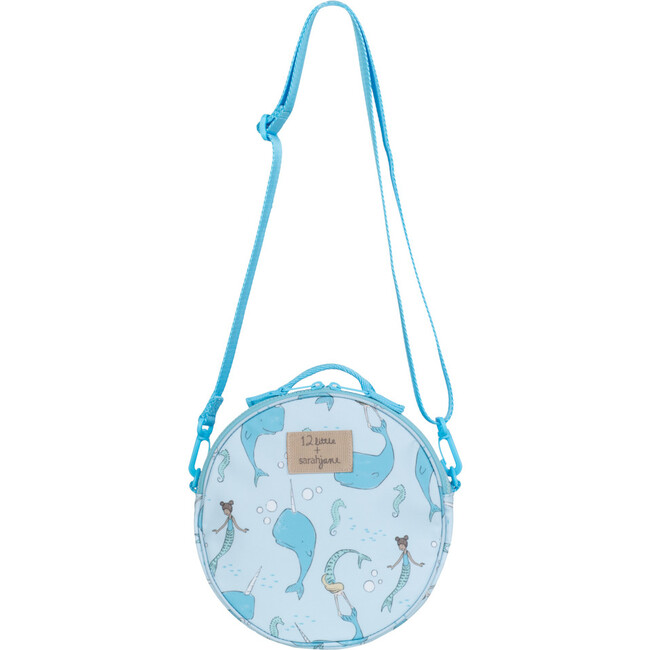 Under The Sea Round Bag, Blue - Bags - 1