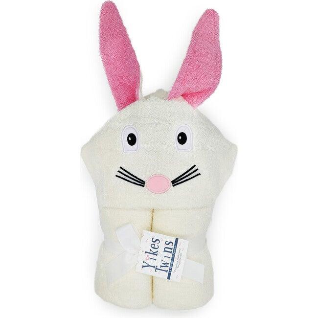 Bunny Hooded Towel, Cream