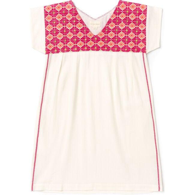 Women's Hanalei Dress, Hot Pink/Coral/Neon Green