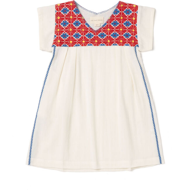 Hanalei Dress Girls, Red/Yellow/Blue