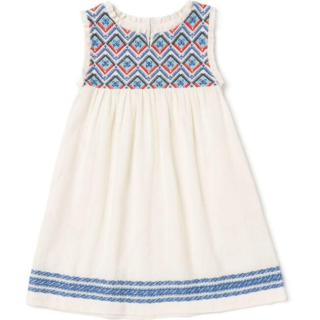 Sullivans Dress Girls Red/Blue/Dark Blue - Dresses - 1