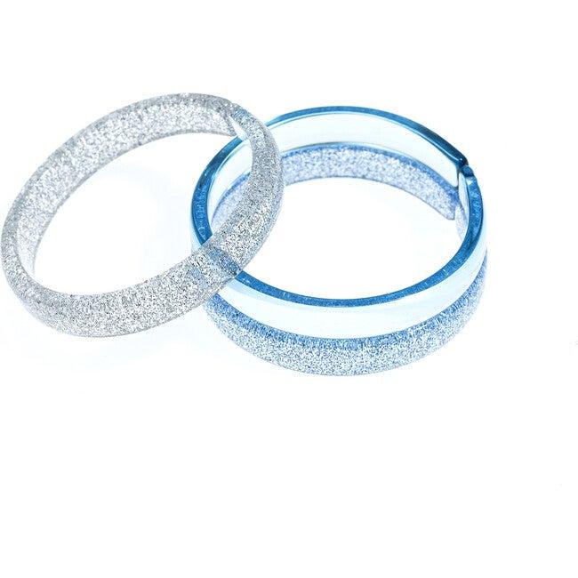 Bracelets, Light Blue Mix