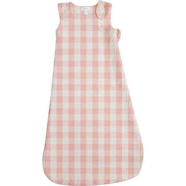 Sleeping Blanket, Pink/Ivory Gingham
