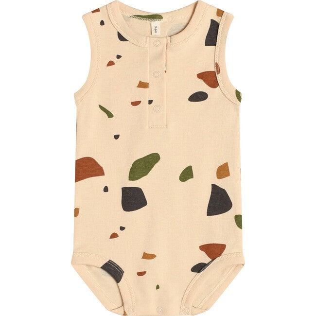Terrazzo Sleeveless Bodysuit