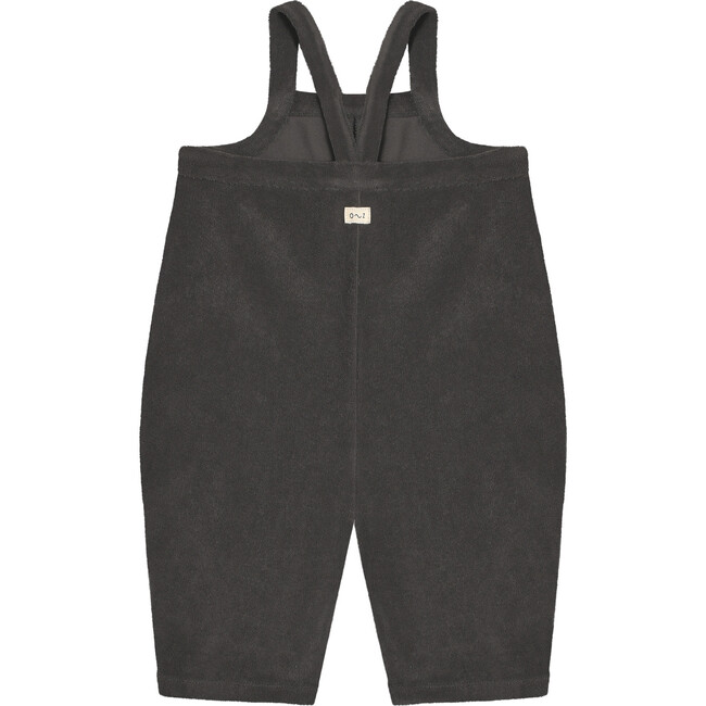 Shadow Terry Cropped Dungarees